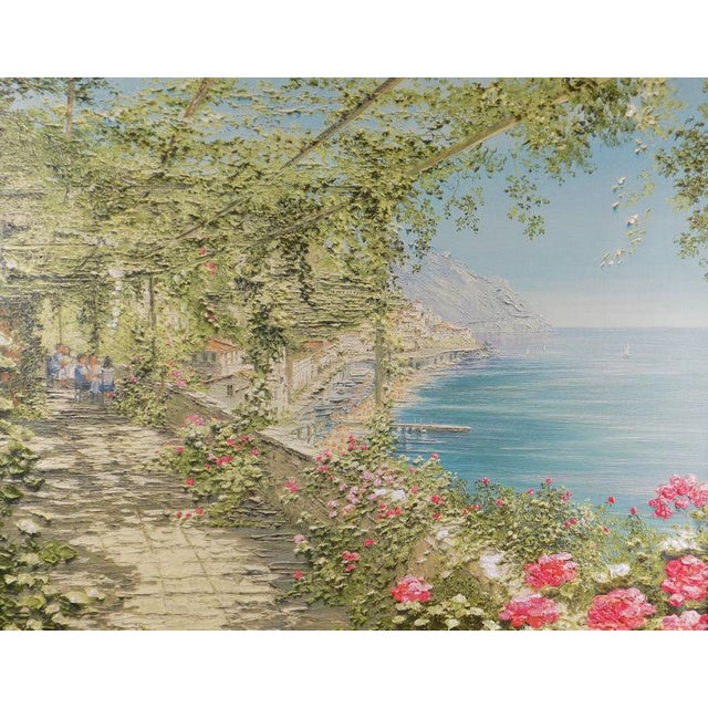 Liliana Frasca 'Amalfi' the Museum Shop Brushstrokes Collection Print For Sale - Image 4 of 12