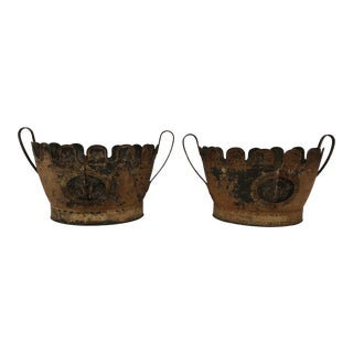 Tole Monteiths- A Pair For Sale