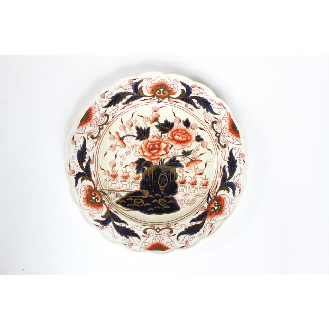 English 19th Century English Imari Dessert/ Salad Plates - Set of 12 For Sale - Image 3 of 8
