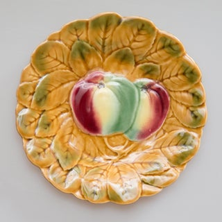 French Majolica Fruit Plates, Set of 2 Preview