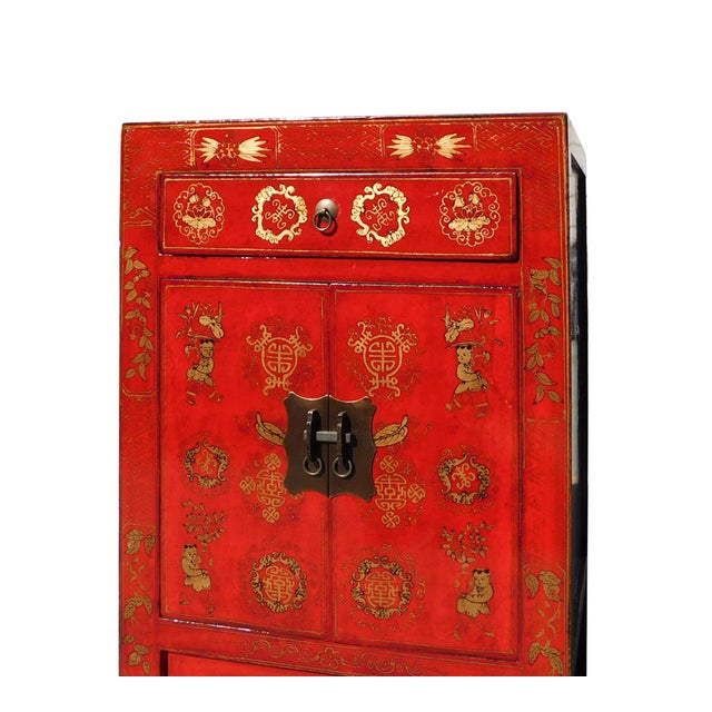 Chinese Side Table Cabinet - Image 4 of 6