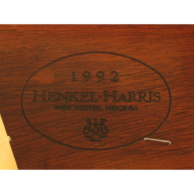 43475e Henkel Harris #112 Ball & Claw Mahogany Dining Room Chairs - Set of 8 For Sale - Image 10 of 11