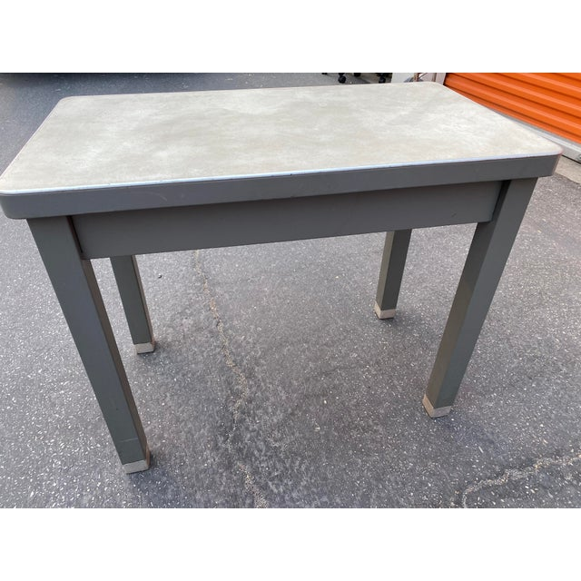 Mid-Century Modern 1960s Cole Steel Children's Desk For Sale - Image 3 of 9
