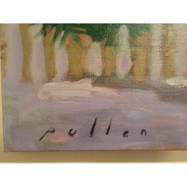 "Mark Pullen ""Little Boy"" Original Oil Painting - Image 3 of 6"