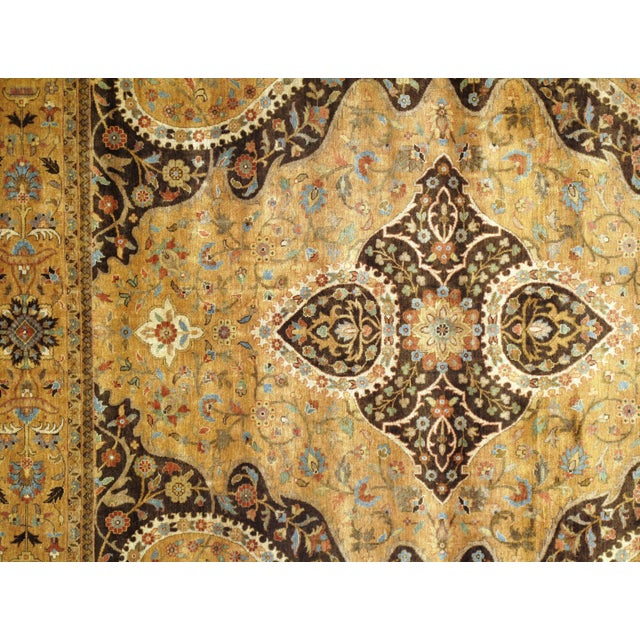 "2010s Pasargad N Y Fine Serapi Design Hand-Knotted Rug - 7'10"" X 9'6"" For Sale - Image 5 of 6"