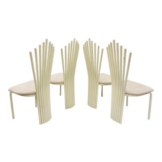 Vintage Contemporary Modern Dining Chairs For Sale