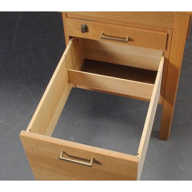 Børge Mogensen Desk of Model Sm70 by Børge Mogensen for Soborg Furniture For Sale - Image 4 of 6
