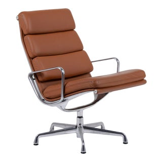 Herman Miller Eames Soft Pad Lounge Chair For Sale