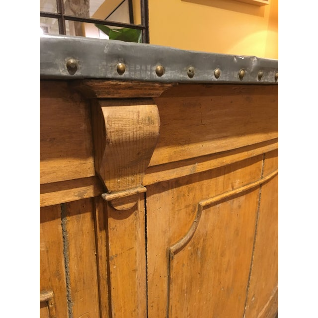 Repurposed French chateau paneling
