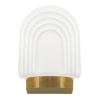 Art Deco Style Brass Bathroom Wall Light