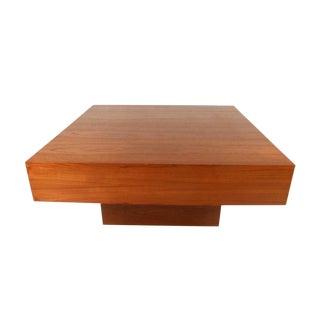 Mid Century Modern Teak Coffee Table For Sale