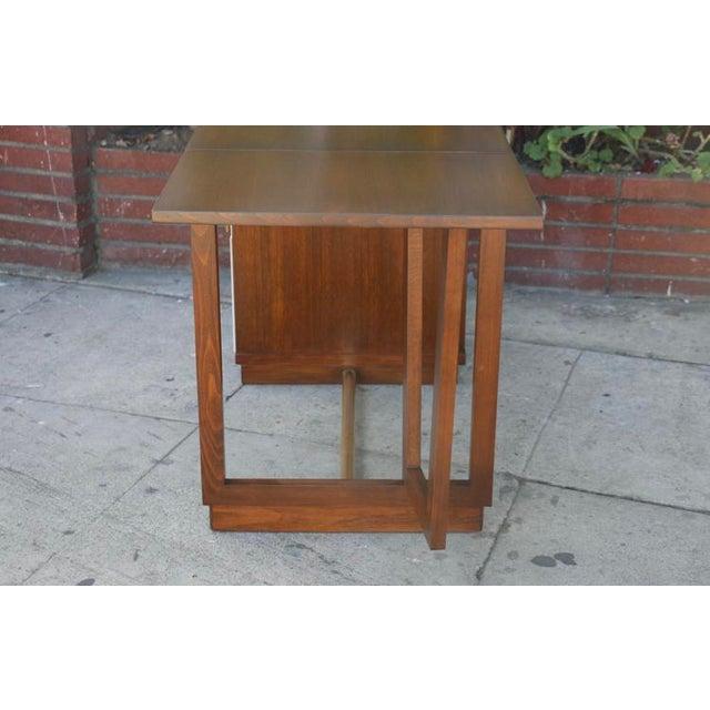 Edward Wormley Drop Leaf Desk For Sale - Image 9 of 13