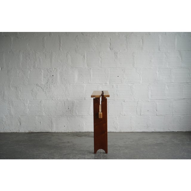 Modern Modern Stitch Side Table For Sale - Image 3 of 5