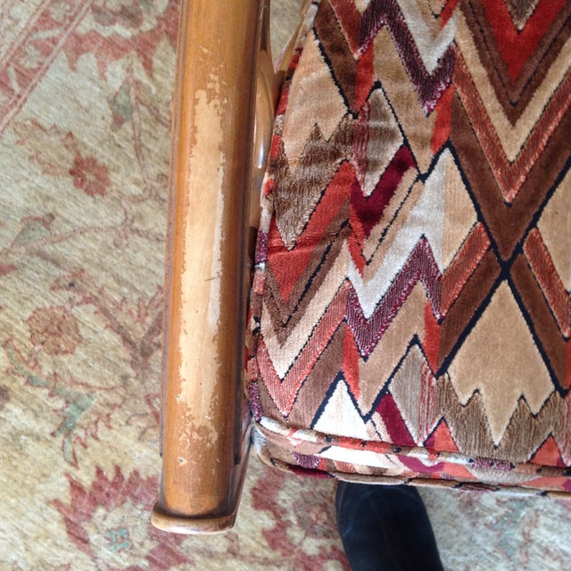 Vintage Barrel Back Club Chairs - A Pair - Image 7 of 11