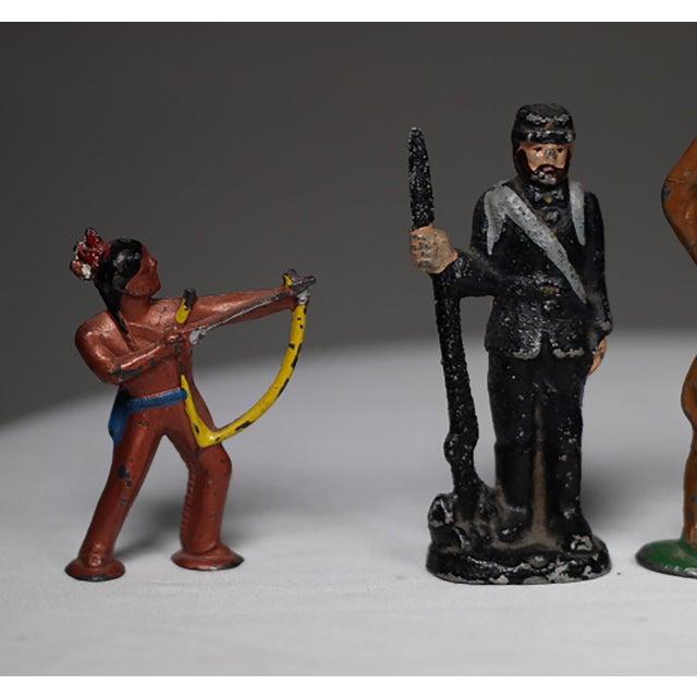 Mid-century English Lead Figures - 7 - Image 3 of 5