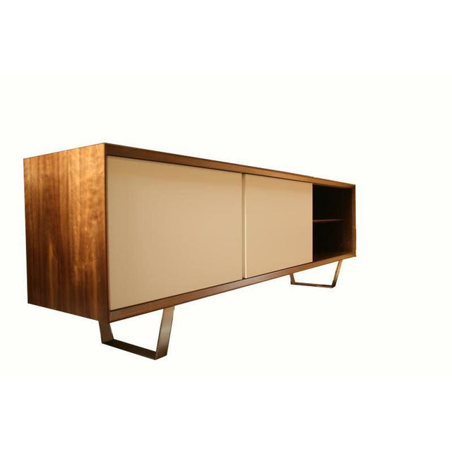 Customizable Yoon Sliding Door Console For Sale In New York - Image 6 of 10