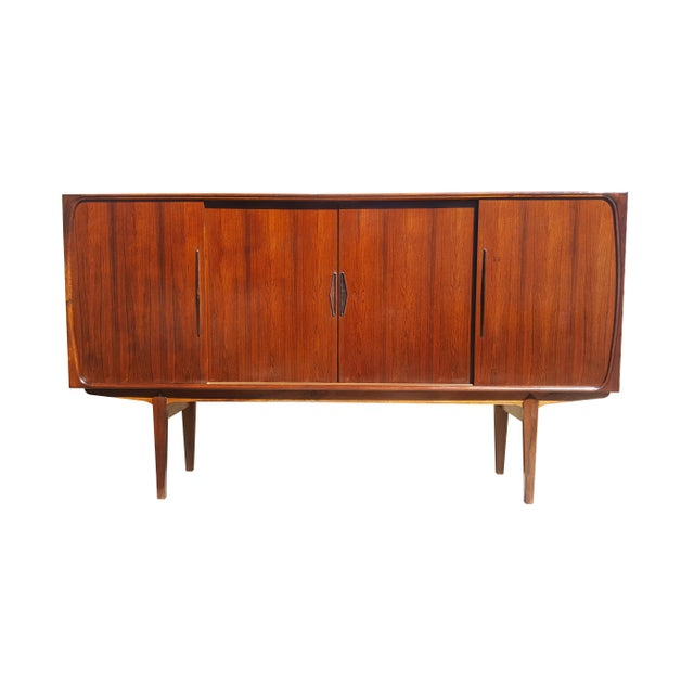 1960s Danish Modern Rosewood Credenza/Sideboard For Sale - Image 12 of 12