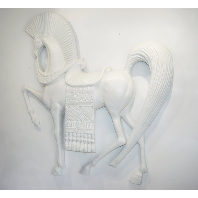 Standing Etruscan Horse in the Style of Frederick Weinberg For Sale - Image 10 of 13