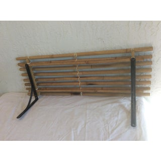 1960s Asian Bamboo Wall Shelf Preview