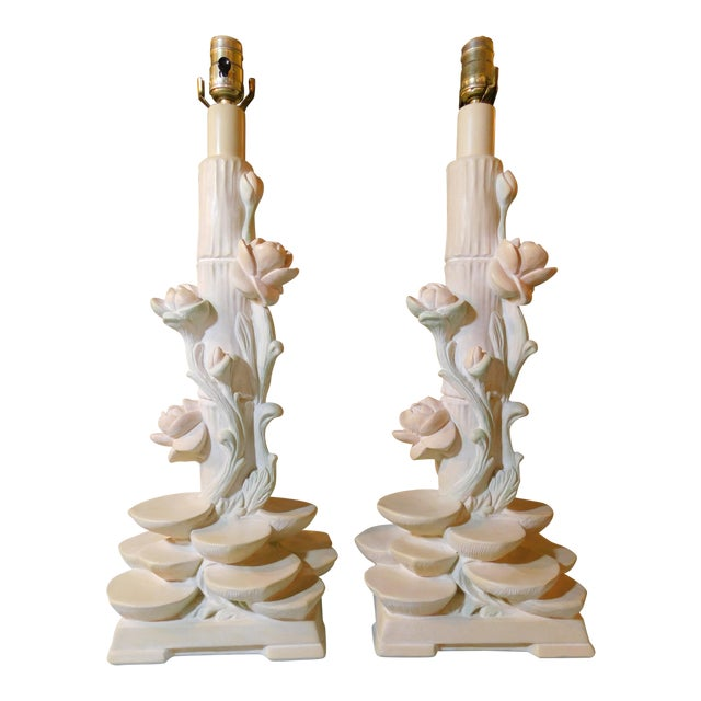 Serge Roche Style Pieri Lamps - A Pair - Image 1 of 8