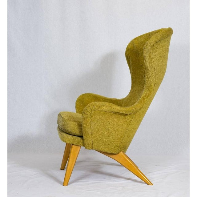 1950s Carl Gustav Hiort af Ornäs Lounge Chair For Sale - Image 5 of 10