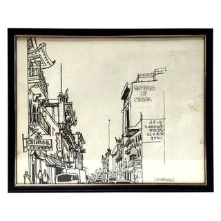 San Francisco Sketch - Chinatown