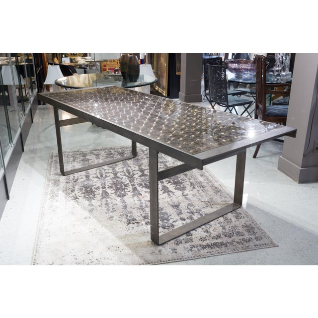 """Contemporary """"Lens"""" Dining Table by Patricia Urquiola for B&B Italia For Sale - Image 3 of 8"""