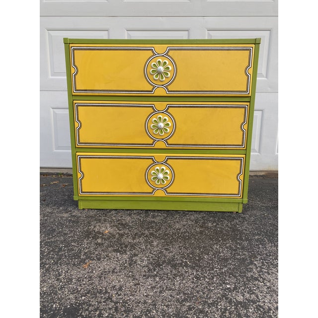 Mid 20th Century Drexel Peter Max Inspired Small Dresser For Sale - Image 12 of 12