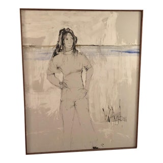 1963 Original Acrylic on Canvas For Sale