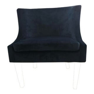 Lulu & Georgia Pina Velvet Chair For Sale