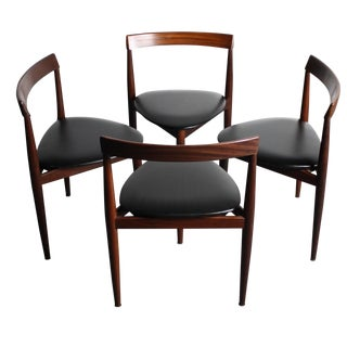 Rosewood Hans Olsen Dining Chairs - Set of 4