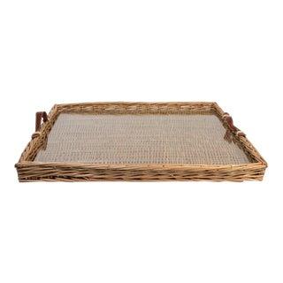 Medium Island Tray With Glass Insert
