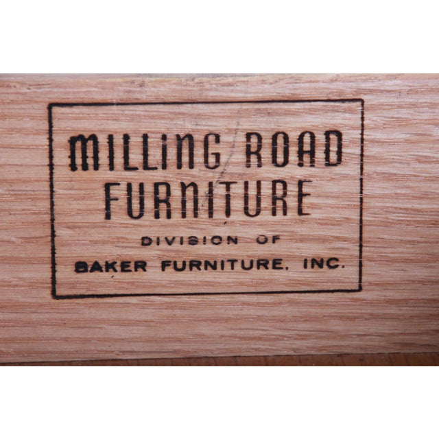 Baker Furniture Milling Road French Regency End Tables, Pair For Sale - Image 11 of 12