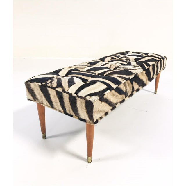 We keep picturing this gorgeous one-of-a-kind bench at the end of a beautiful bed or down a handsome hallway. Our...