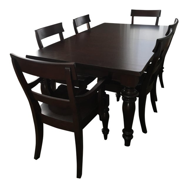 Pottery Barn Montego Dining Set Chairish