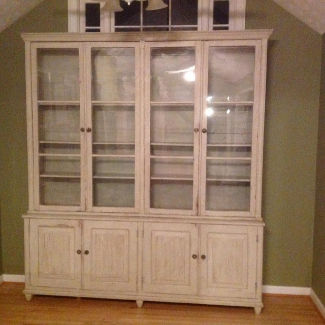 Gustavian Book Case Cabinet - Image 2 of 7