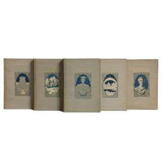 Antique Young Folks Library Gift Set, (S/5) Preview