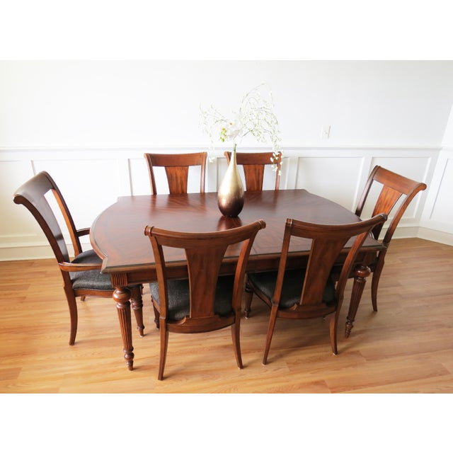 Traditional Pennsylvania House Cherry Dining Table Chairs Chairish