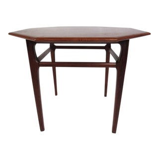 Vintage Modern Walnut Side Table by Mersman