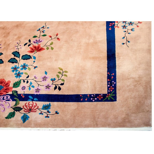 Art Deco Wonderful Nichols Chinese Art Deco Rug For Sale - Image 3 of 7
