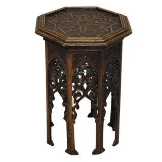 A 19th Century Moorish Table For Sale