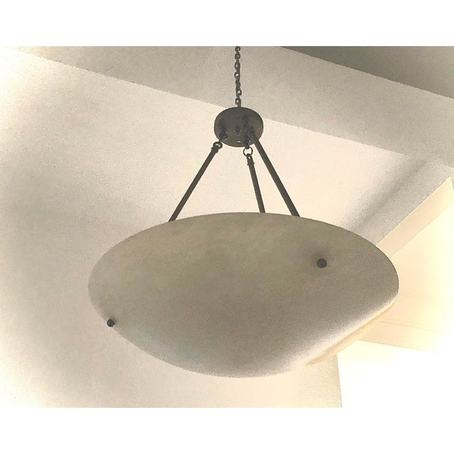 Contemporary Contemporary Alabaster Pendant For Sale - Image 3 of 3