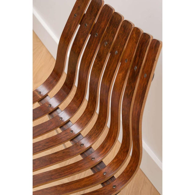 Hans Brattrud Hans Brattrud Rosewood Chairs - Set of 4 For Sale - Image 4 of 8