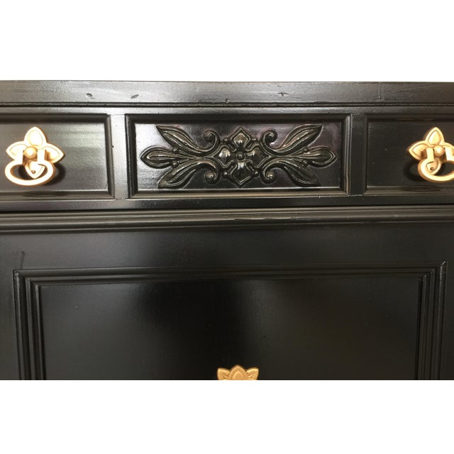Weiman Vintage Weiman Painted Credenza For Sale - Image 4 of 10