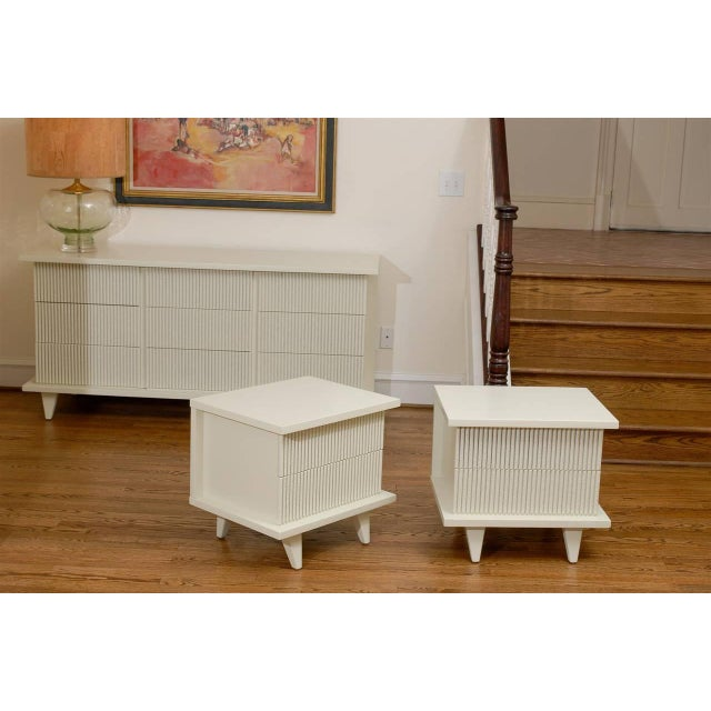 Stunning End Tables or Night Stands by American of Martinsville For Sale - Image 9 of 11