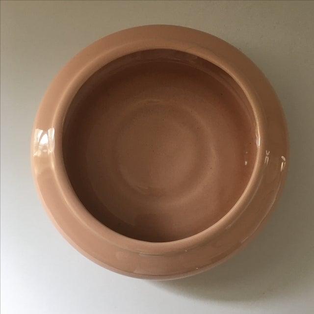 Pale Peach Ceramic Vessel - Image 3 of 5