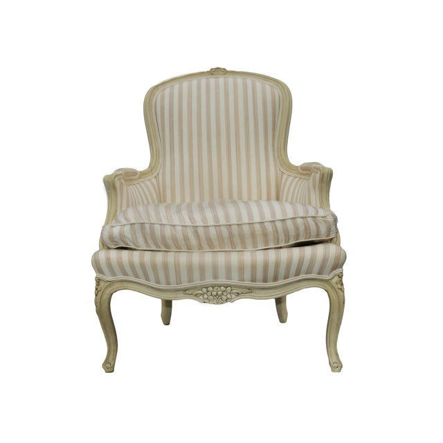 John Widdicomb French Style Upholstered Chair - Image 1 of 9