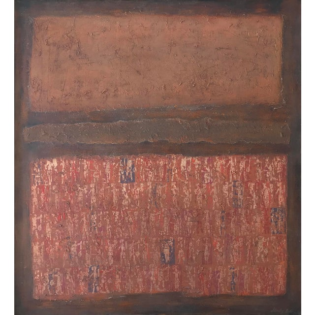 Stanley Bate, Untitled Painting, Circa 1960 For Sale