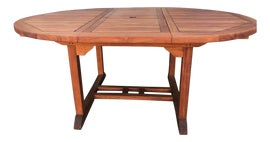 Image of Teak Outdoor Tables