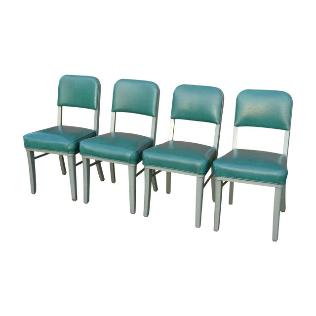 Steelcase Mid Century Office Chairs - Set of 4 For Sale